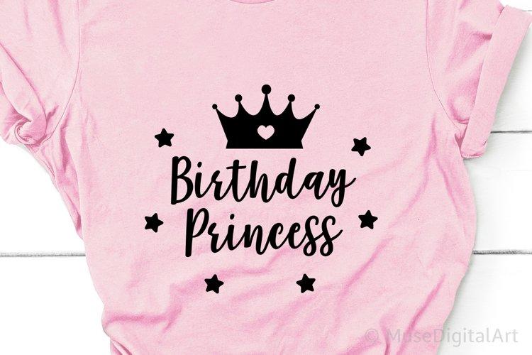 Birthday Princess Svg, Birthday Girl Svg, Baby Girl Png, Dxf