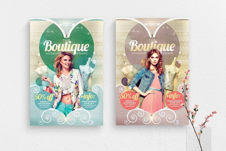 The Boutique Flyer Template