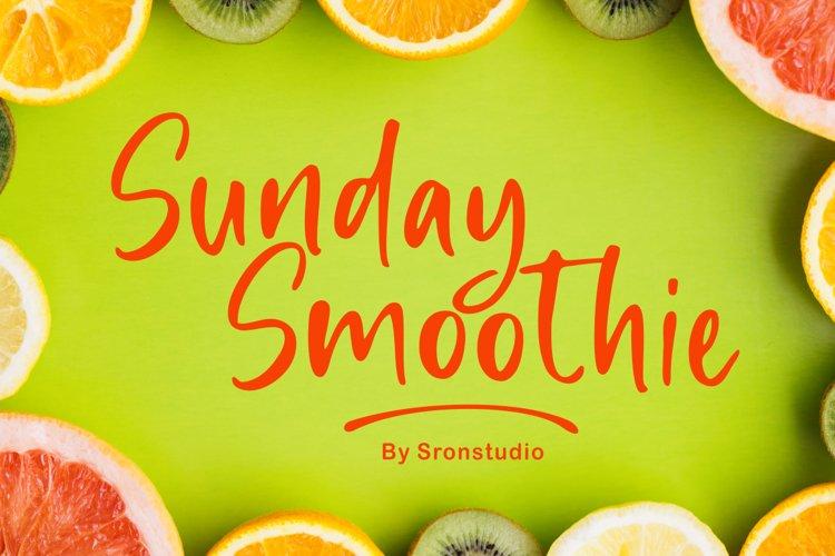 Sunday Smoothie example image 1