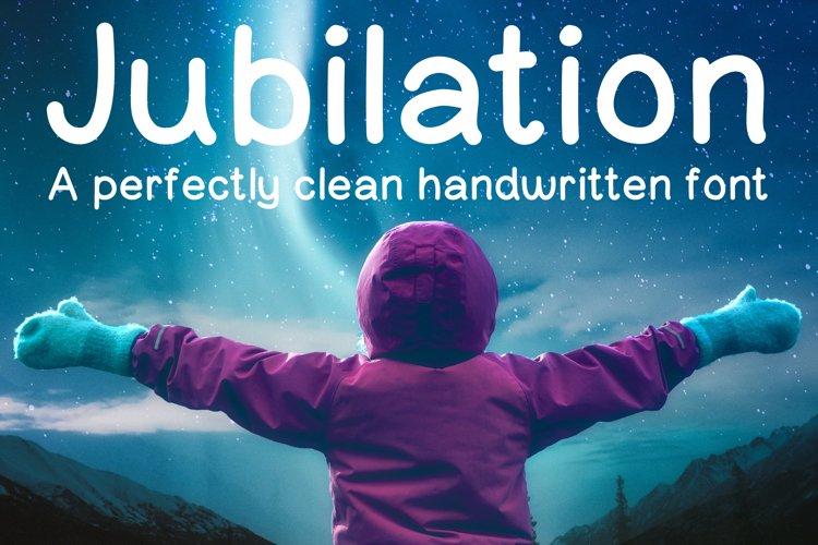 Jubilation Sans Serif Handwritten Font