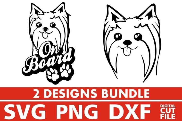 2x West Highland Terrier On Board Bundle svg, Dog Breed svg example image 1