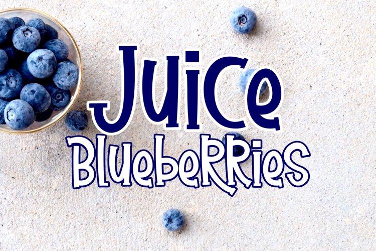 Juice Blueberries example image 1
