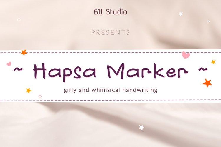 Hapsa marker example image 1