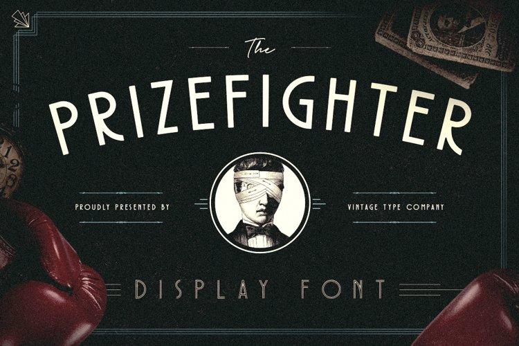 Prizefighter Display Font