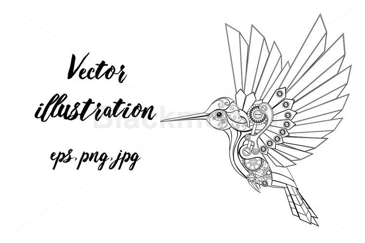 Contour Mechanical Hummingbird
