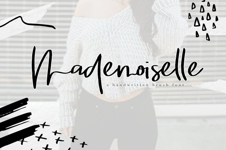 Mademoiselle - Chic Brush Font example image 1