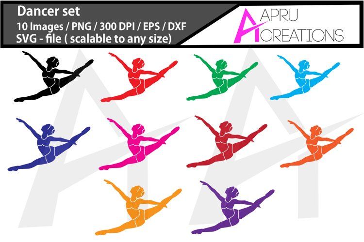 dancer silhouette / dancer svg vector / dancer svg clipart / dancer dxf / dance pose