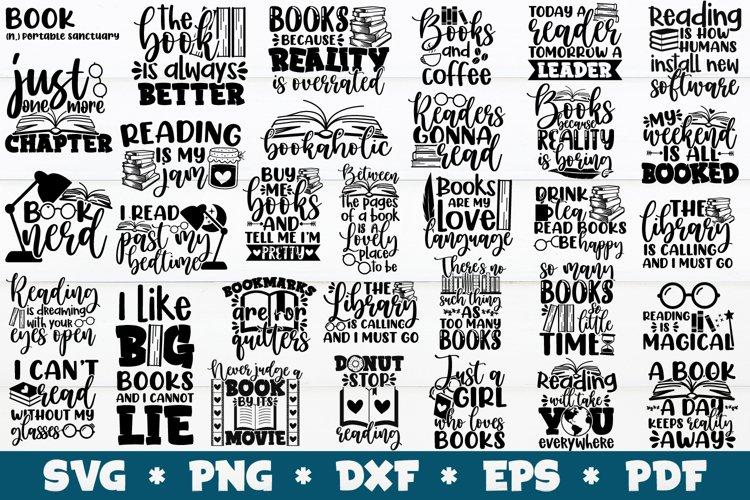 32 Reading SVG Bundle, Book SVG Bundle, Book Lover SVG