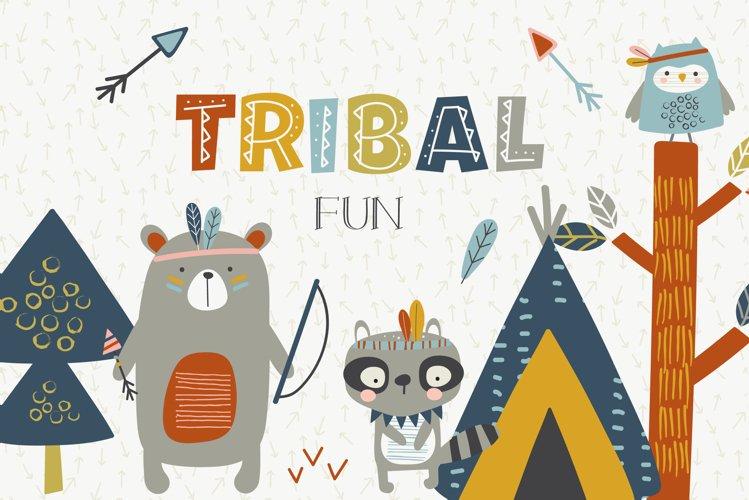 Tribal fun pack example image 1