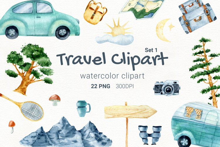 Camping sublimation, watercolor camping, travel trailer, png