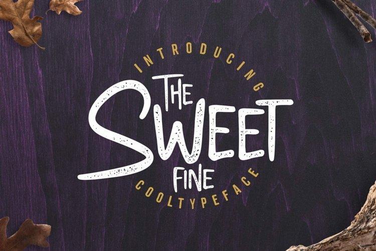 Sweetfine example image 1