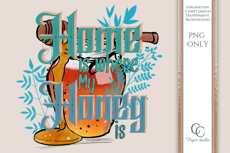 Spring sublimation - home is where my honey is