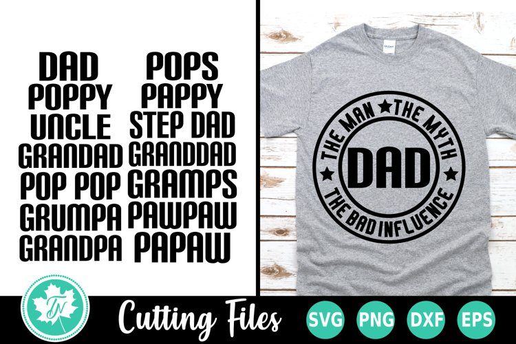 Dad SVG | Fathers Day SVG Cut File