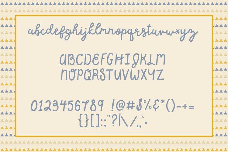 Happy Dance Script Font example 5
