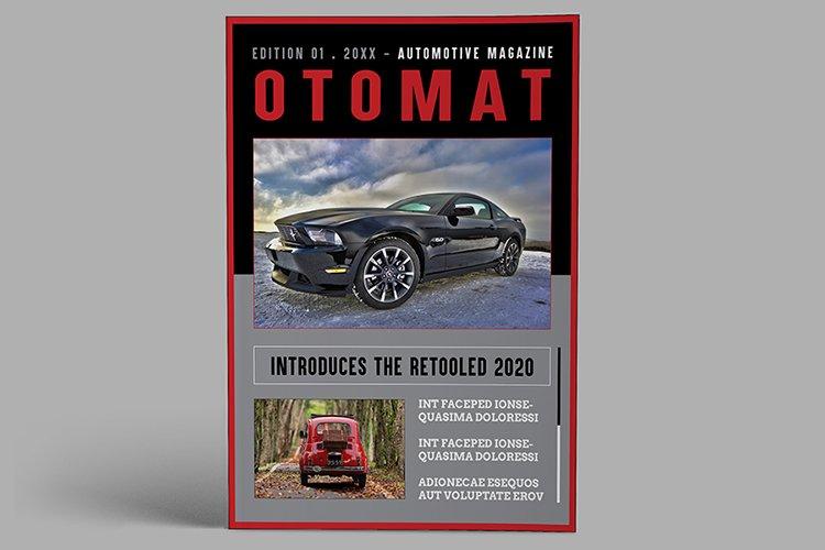 Automotive Magazine Template - Otomat