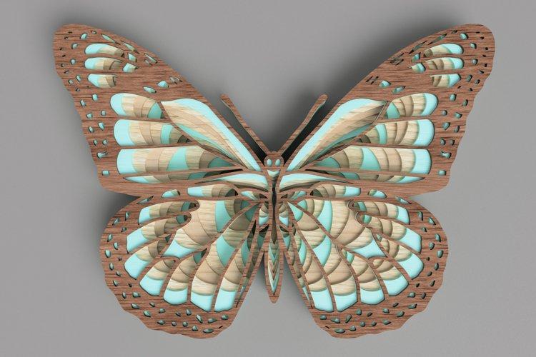 Butterfly Laser Cut File