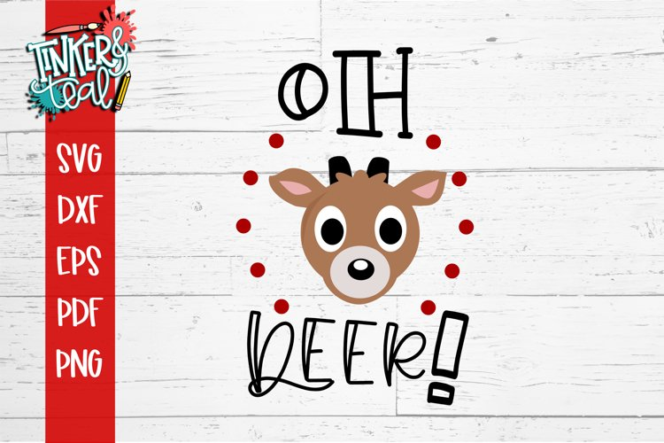 Oh Deer Christmas SVG