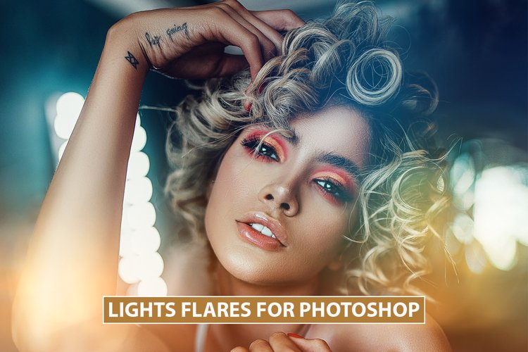 Cinematic Lights Flares Overlays, Optical Flare, Lens, Rays