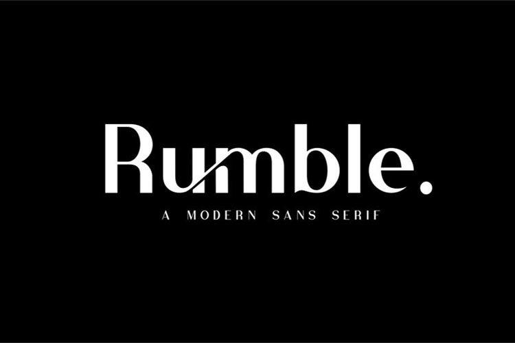 Rumble//Elegant Typeface example image 1