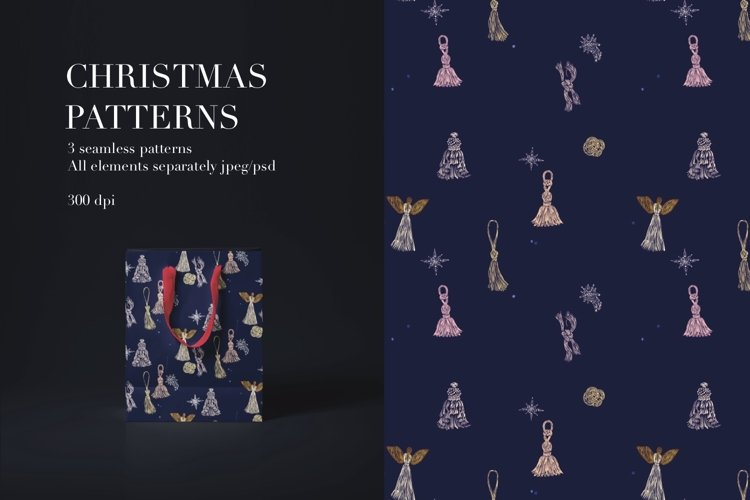 New Year pattern Tassels