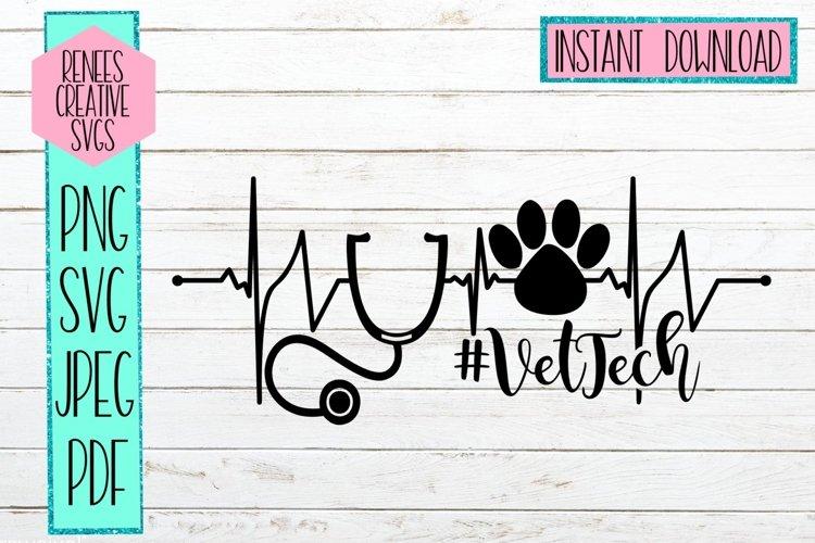 VetTech   Veterinary Tech  SVG Cutting File