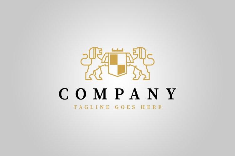 Royal Lions Logo Template