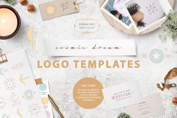 Cosmic Dream Logo Template & Creator Kit example image 1