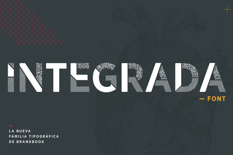 INTEGRADA font