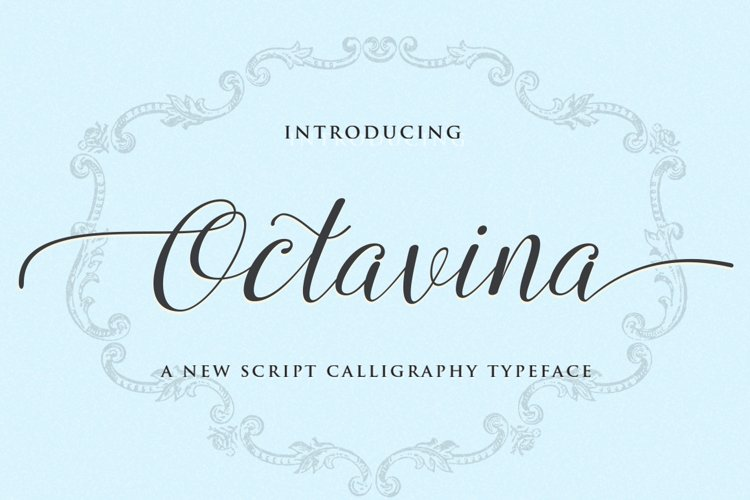 Octavina Script example image 1