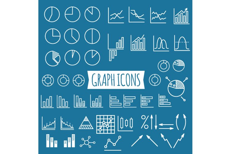 40+ Diagram and Graphs Icons example