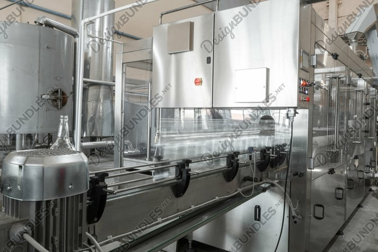 Factory for the production and bottling beverages example image 1