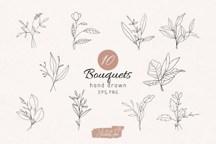 Flower Bouquet Botanical Elements