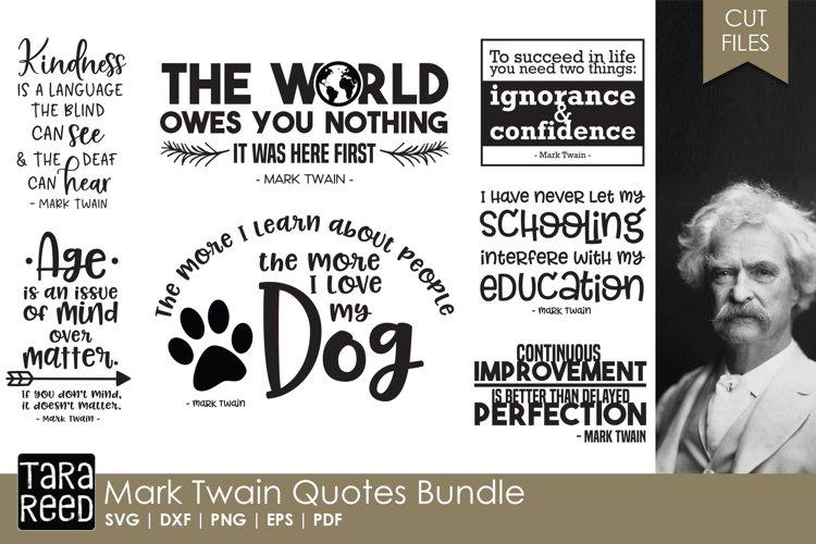 Mark Twain Quotes Bundle example image 1