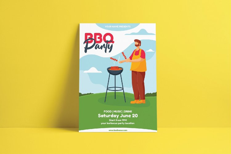 Barbecue Party Flyer