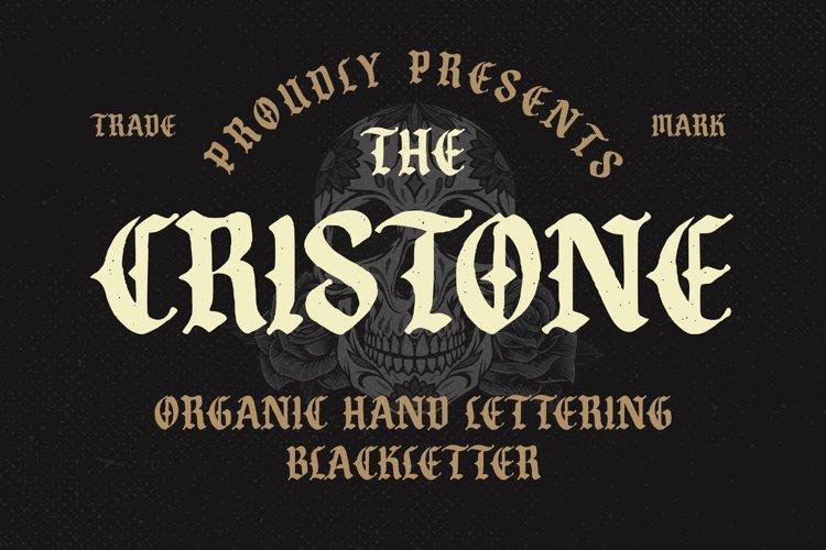 Cristone Blackletter Font example image 1