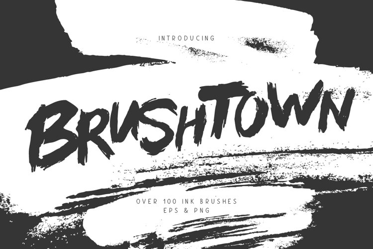 BrushTown - Over 100 Ink Brushes example image 1