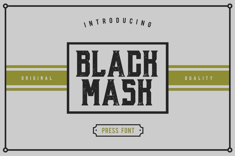 Black Mask example image 1