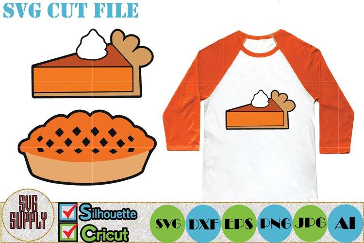 Pumpkin Pie SVG Cut File