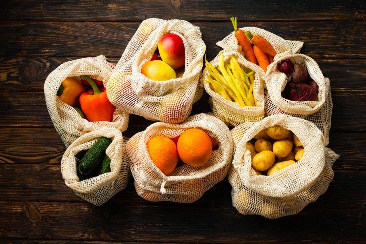 Zero waste food shopping example image 1