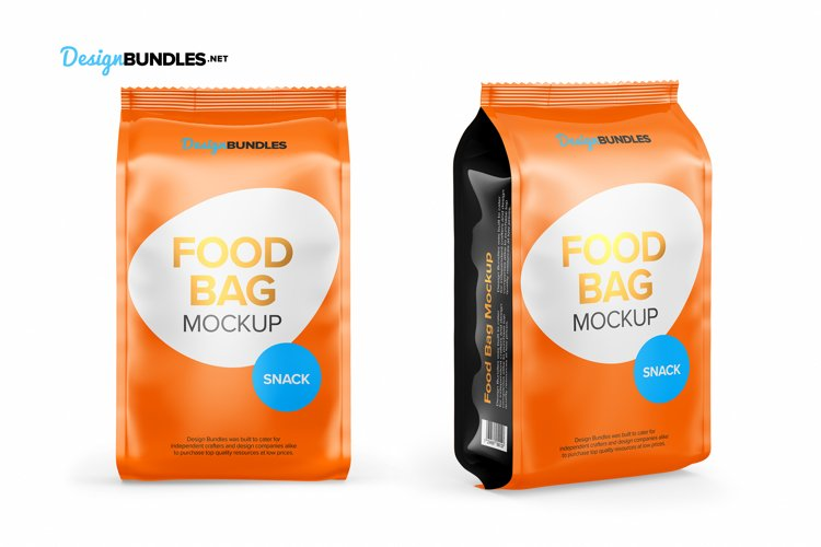 Food Bag Mockups example 7