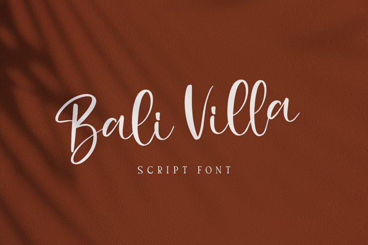 Bali Villa example image 1