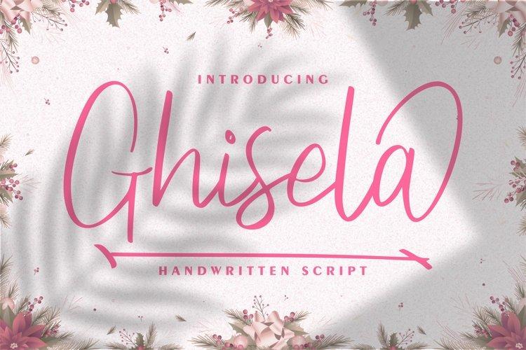 Ghisela | Handwritten Font example image 1