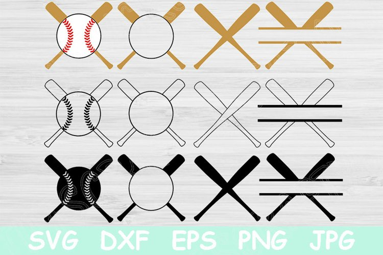 Baseball Monogram Svg, Baseball Png, Baseball Bat Svg Files