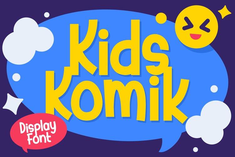 Kids Komik example image 1