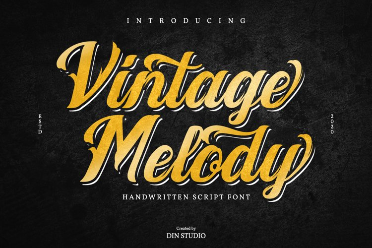 Vintage Melody example image 1