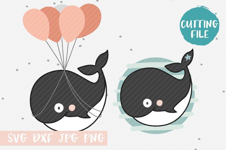 Willi Whale SVG Cut File for Cricut & Silhouette