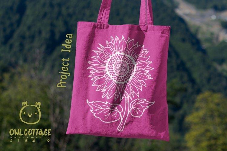 Sunflower Monograms svg, Sunflower mini bundle, Sunflower cl - Free Design of The Week Design3
