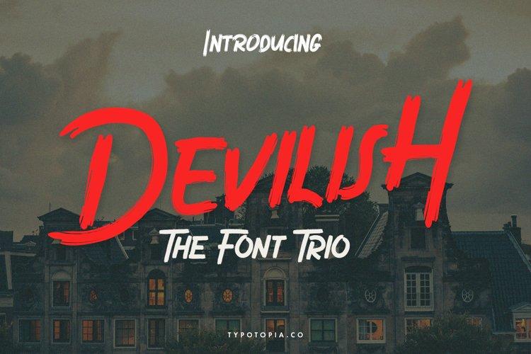 Devilish The Font Trio
