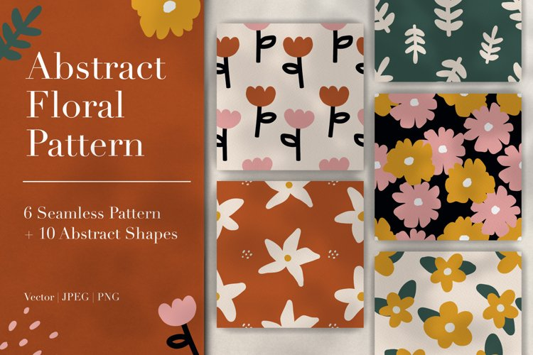 Abstract Floral Pattern & Shapes