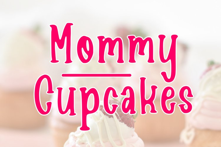 Mommy Cupcakes example image 1
